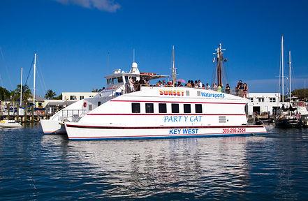 key west forida boat wedings