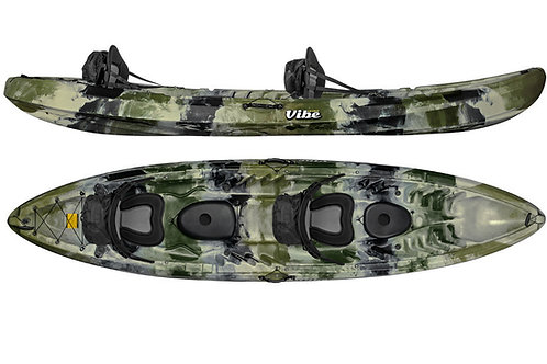 Vibe Skipjack 120T Tandem Kayak Package