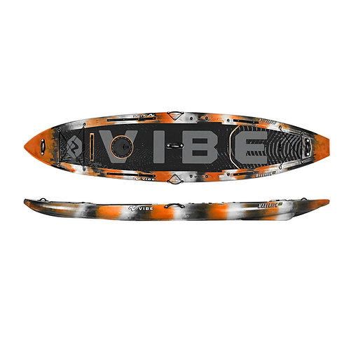 Vibe Maverick 120 SUP Angler Package - Orange Camo