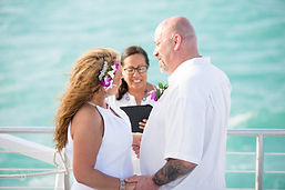 Cheap Key West Boat Weddings