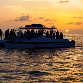 Sunset Catamaran Wedding Key West