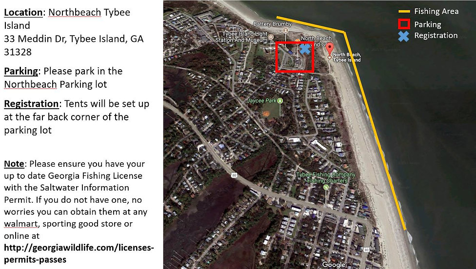 tybee island redfish tournament boundari