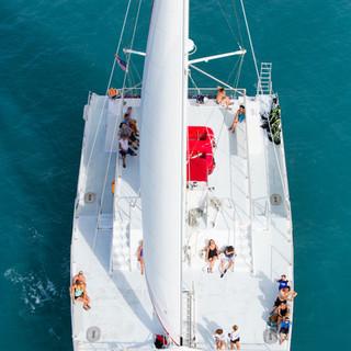 Key west florida boat wedding