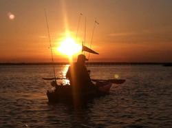 Sunset Kayak Fishing Charter - Tybee