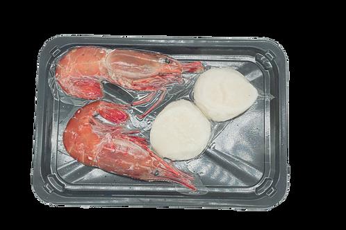 日本北海道刺身帶子2L 2件+加拿大牡丹蝦 2件