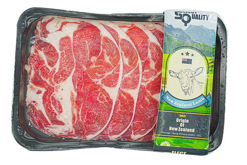 紐西蘭羊卷肉片(250g)