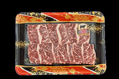 美國cab牛小排燒肉片