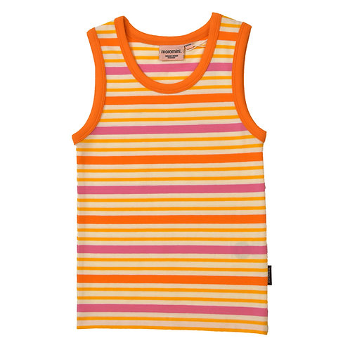 TANK TOP - MOROMINI - ORANGE STRIPES