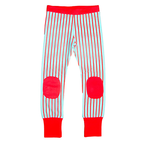 PANTALÓN - MOROMINI - RED STRIPED