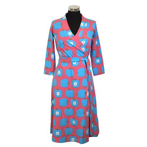 VESTIDO MOM - MOROMINI - BLUE APPLE