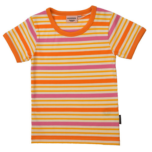 POLERA M/C - MOROMINI - ORANGE STRIPES