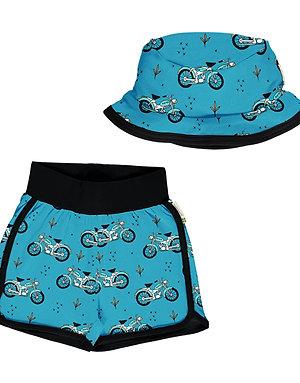 Set Bebé  - Meyadey - Cool Biker Short