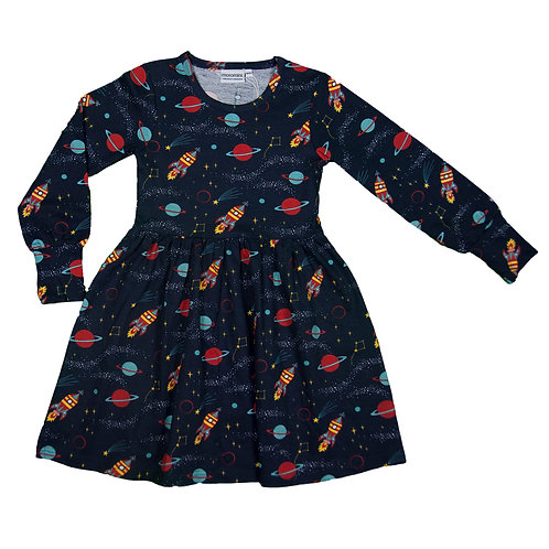 VESTIDO TWIRLY - MOROMINI - OUTER SPACE