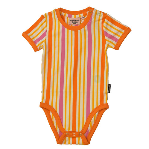 BODY M/C - MOROMINI - ORANGE STRIPES