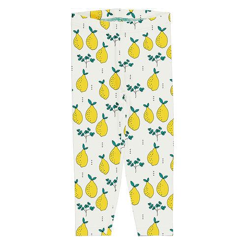 Leggins Crop  - Meyadey - Leafy Lemon