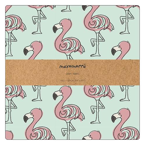 Tela 150 x 150 cm. - Maxomorra - Flamingo