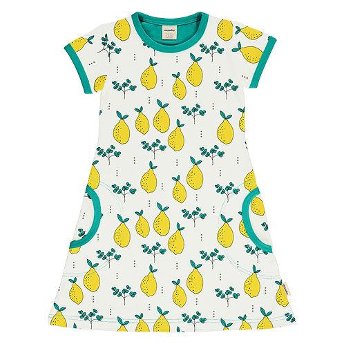 Vestido m/c - Meyadey - Leafy Lemon