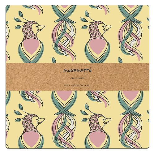 Tela 150 x 150 cm. - Maxomorra - Bird of Paradise