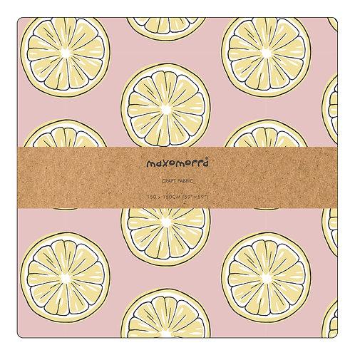 Tela 150 x 150 cm. - Maxomorra - Fresh Lemon