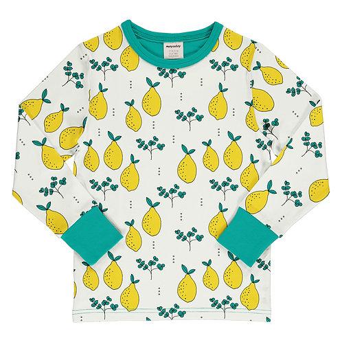 Polera - Meyadey - Leafy Lemon