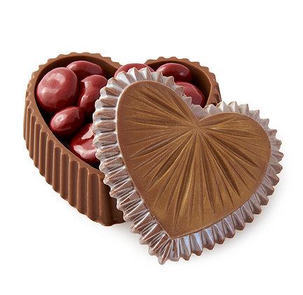 Chocolate Cherry Chocolate Heart