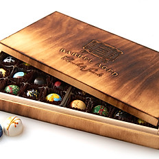 32 Piece Barrel Aged Hand Painted Bonbon Collection