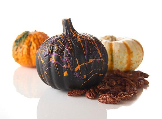 Halloween Pumpkins Filled w/ Texas Spicy Pecans