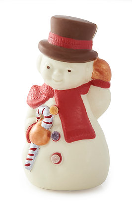 Really Large Handcrafted Chocolate Secrets Snowman