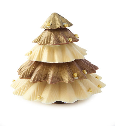 Large Stacked Chocolate Christmas Tree