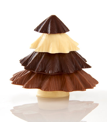 Stacked Chocolate Christmas Tree