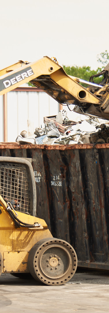 Green Earth Metal Recycling Front End Loader