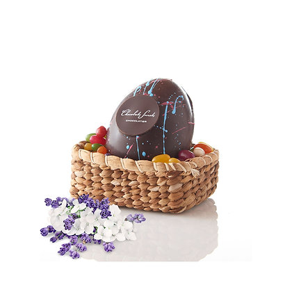 Medium Chocolate Easter Egg with Jelly Beans