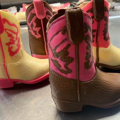Really Cute Pink Western Boot