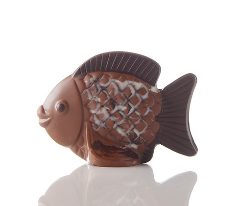 Small, Fanciful, Chocolate Fish