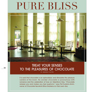 """""""Treat Your Senses to the Pleasures of Chocolate."""" Dallas/Fort Worth House & Home"""