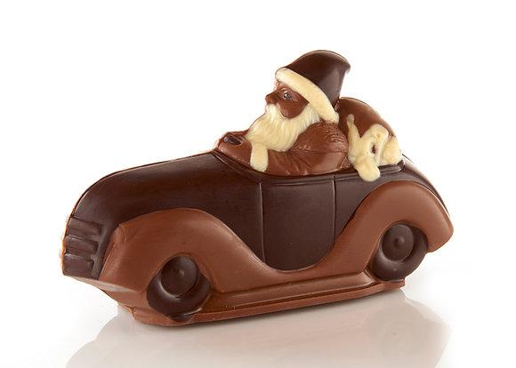 Santa Drives A Roadster
