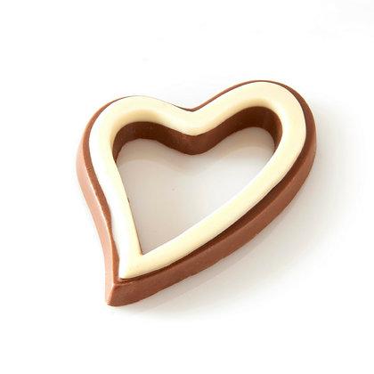 Open Chocolate Heart