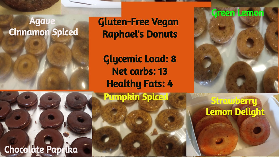 3-Dozen Wholesale Pack Gluten Free Raphael's Donuts (wholesale customers only)