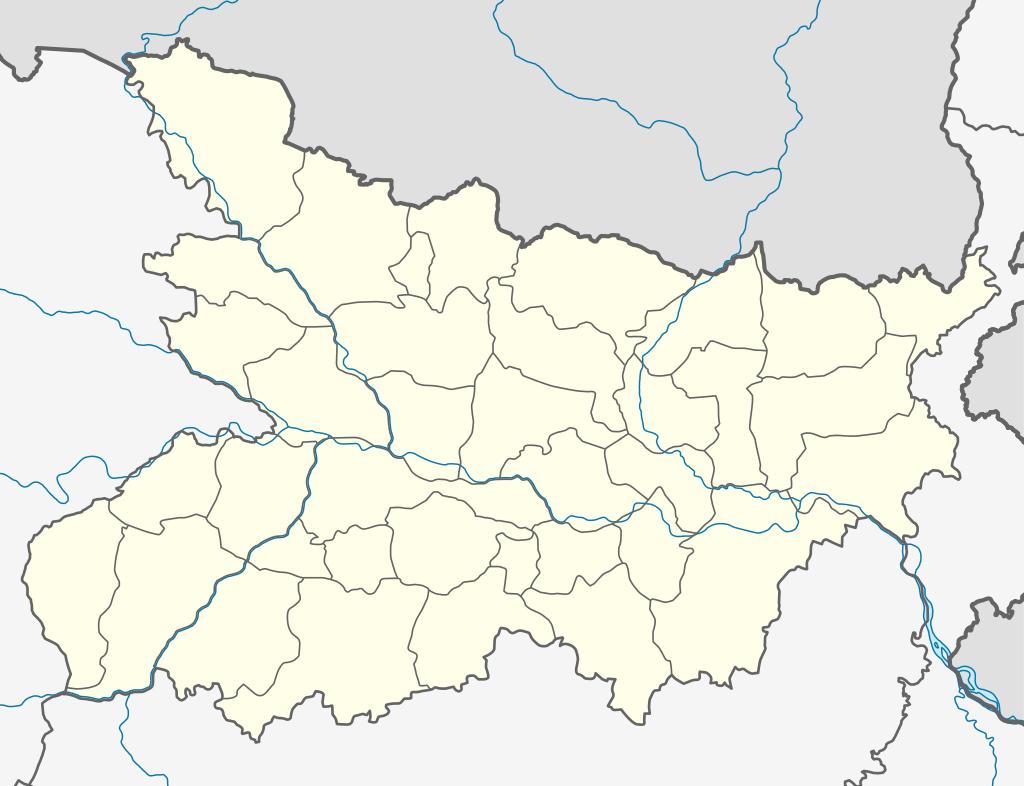bettiah distric map