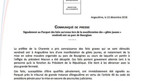Pantin de Macron décapité: la république a la mémoire courte.
