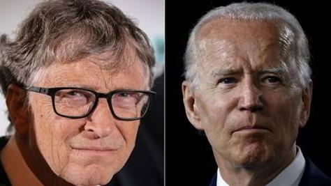 Bill Gates est heureux de l'élection de Biden !