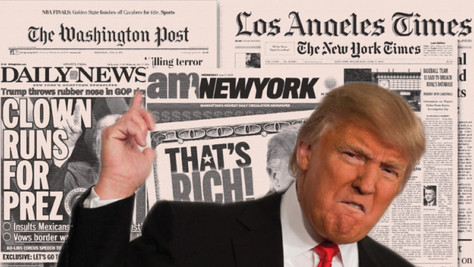 Coup dur pour les mensonges médiatiques: la popularité de Trump en hausse.