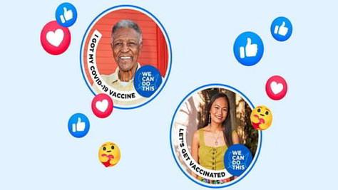 Facebook veut mettre en lumière ses utilisateurs vaccinés
