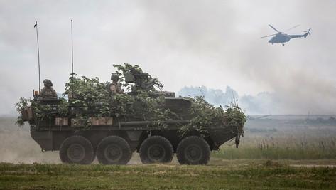 OTAN: nouvel exercice aux portes de la méchante Russie