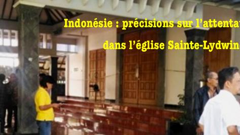 Indonésie: attentat à la machette dans une église.