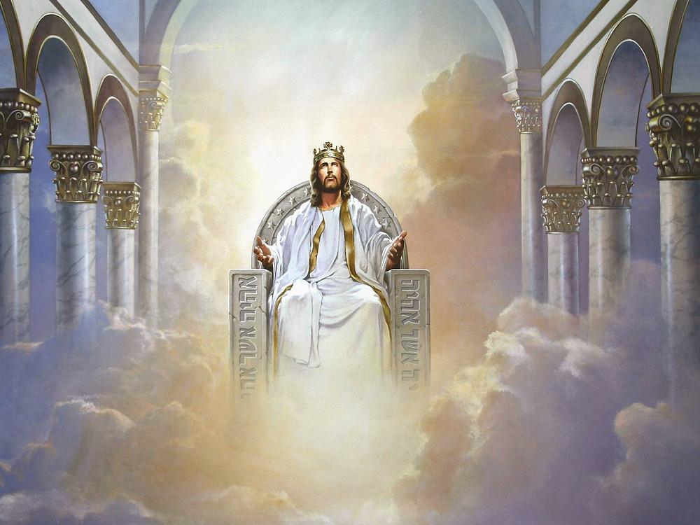 Jésus au-dessus de toutes choses. Jésus est Dieu.