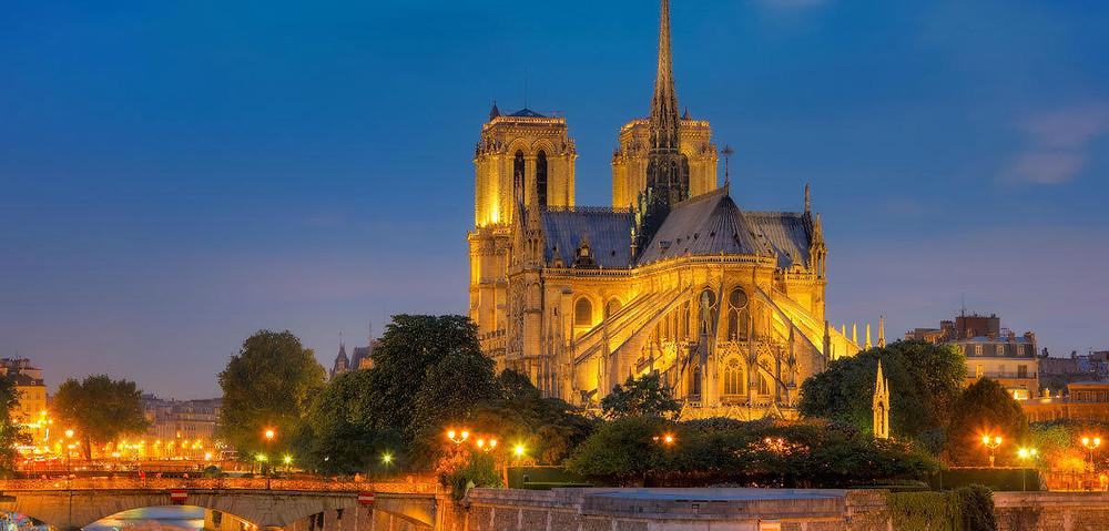 Notre Dame de Paris, beau cliché de nuit