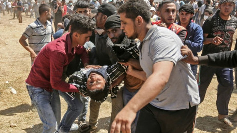 Israël, frontière: plus de 50 palestiniens tués