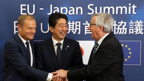 Traité Japon-UE: une nouvelle enfilade.