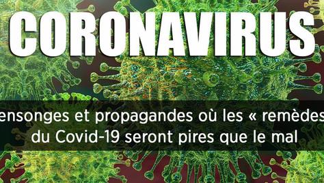 Le Coronavirus, c'est bon pour le N.O.M !